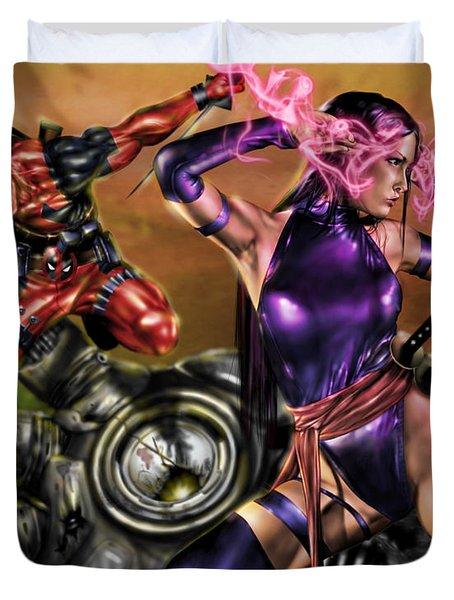 Psylocke Deadpool Psylocke And Deadpool ...