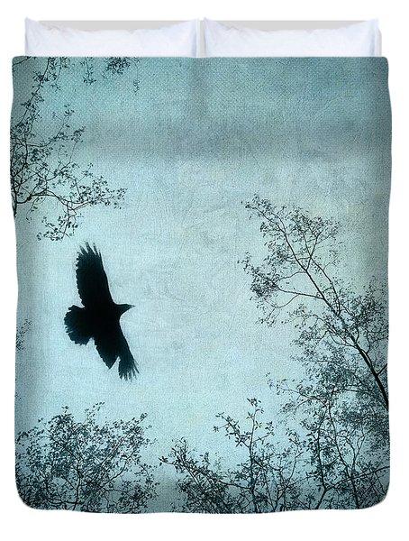 Spread Your Wings Duvet Cover by Priska Wettstein
