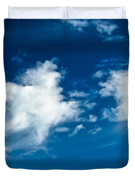 Racing Star Duvet Cover by Christopher Holmes
