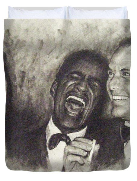Rat Pack Duvet Cover by Cynthia Campbell