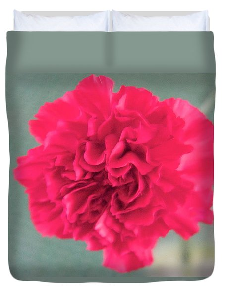 Red Rose Duvet Cover by Dick Willis