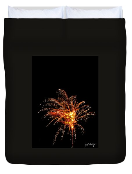 Red Splash Duvet Cover by Phill Doherty