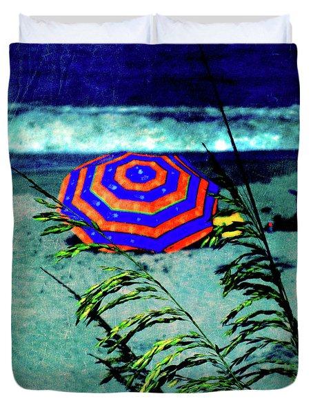 Red-White-Blue Duvet Cover by Susanne Van Hulst