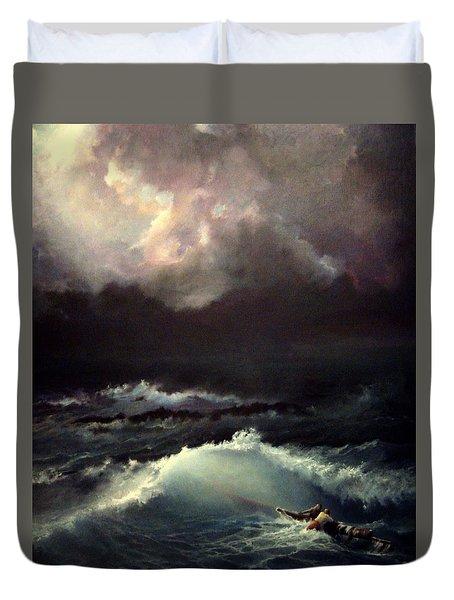 Reef Duvet Cover by Mikhail Savchenko