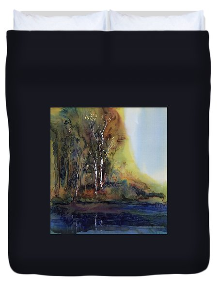Reflections Duvet Cover by Carolyn Doe