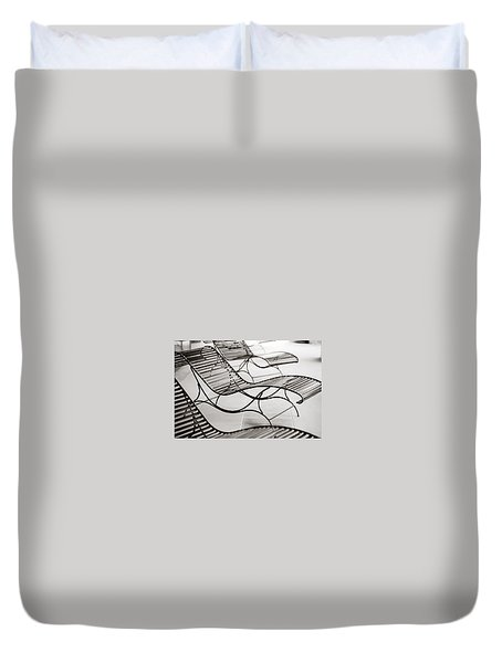 Relaxation Duvet Cover by Marilyn Hunt