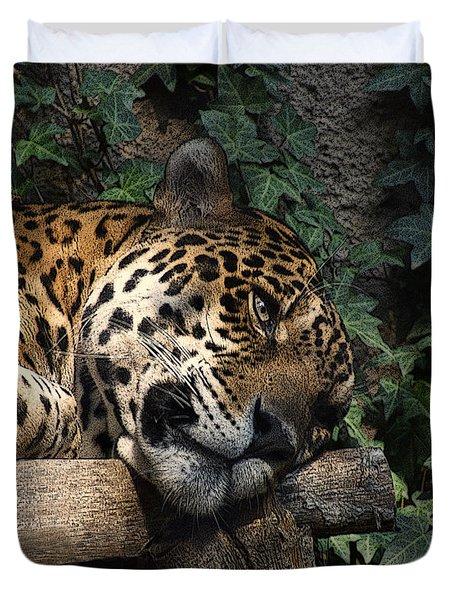 Relaxing Duvet Cover by Ernie Echols