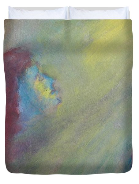 Religious Fanatic Duvet Cover by Judith Redman