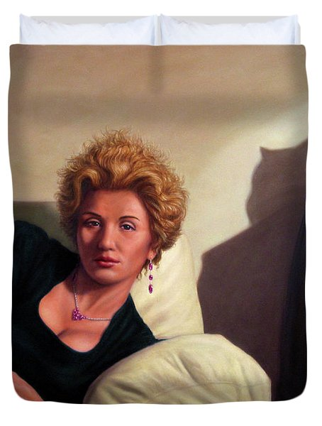 Repose Duvet Cover by James W Johnson