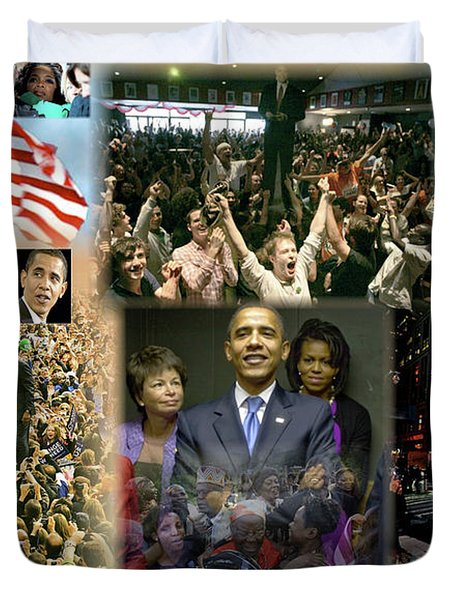Respectfully Yours..... Mr. President Duvet Cover by Terry Wallace