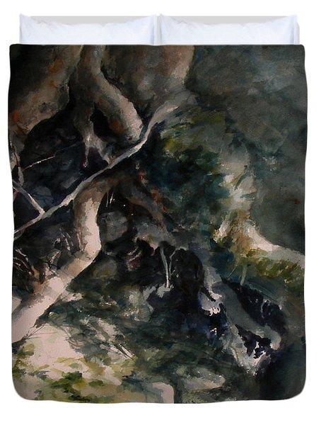 Revealed Duvet Cover by Rachel Christine Nowicki