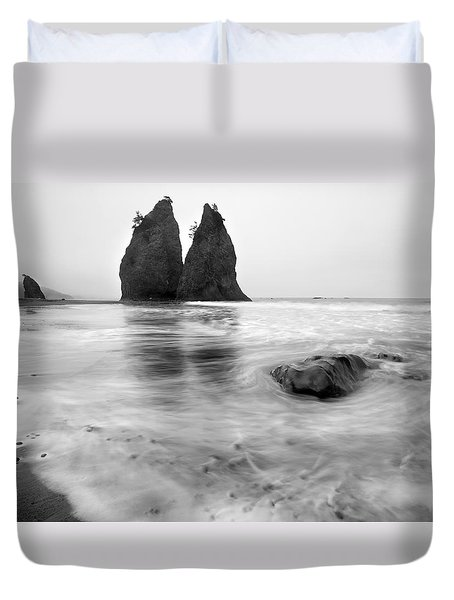 Rialto Reflections Duvet Cover by Mike  Dawson