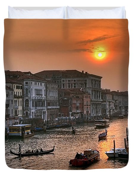 Riva del Ferro. Venezia Duvet Cover by Juan Carlos Ferro Duque