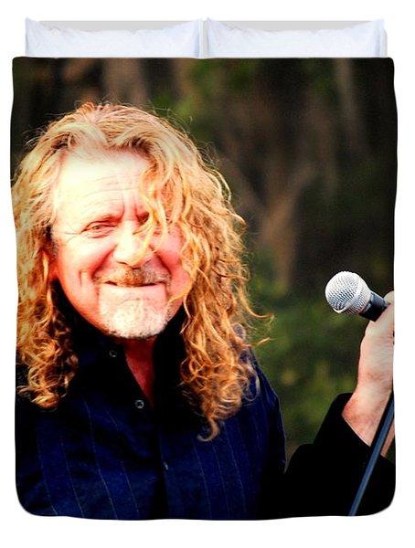 Robert Plant Duvet Cover by Angela Murray