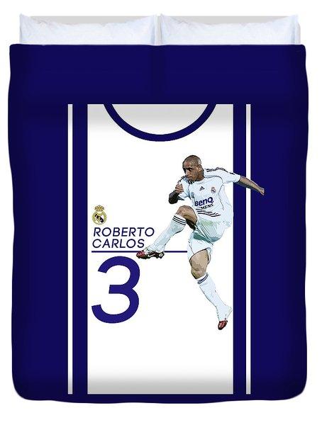 Roberto Carlos Duvet Cover by Semih Yurdabak