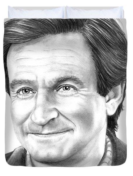 Robin Williams Duvet Cover by Murphy Elliott