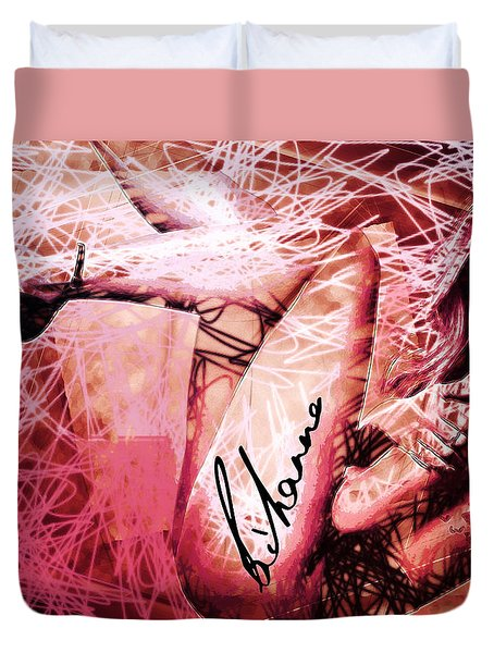 Robyn Rihanna Fenty - Rihanna Duvet Cover by Sir Josef - Social Critic - ART