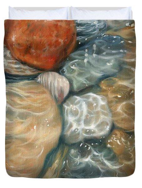 Rockpool Duvet Cover by David Stribbling