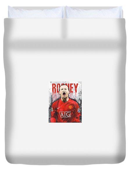 Rooney Duvet Cover by Jeff Gomez