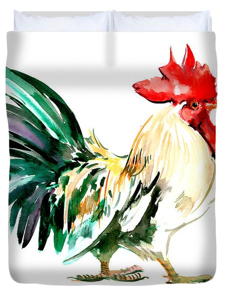 Rooster Duvet Cover by Suren Nersisyan