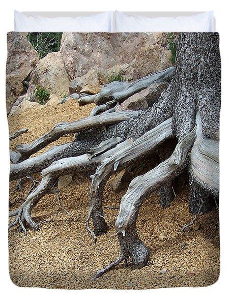 Roots Duvet Cover by Ernie Echols