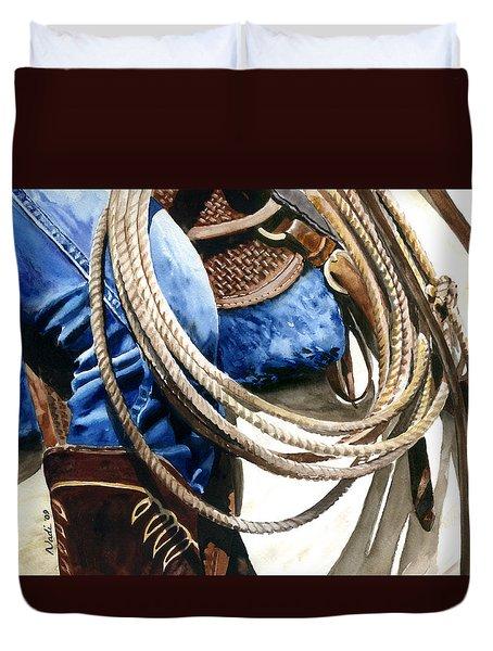 Rope Duvet Cover by Nadi Spencer