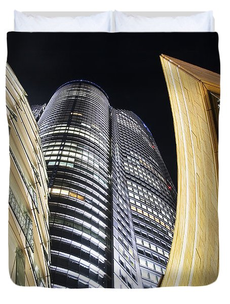 Roppongi Hills Mori Tower Duvet Cover by Bill Brennan - Printscapes