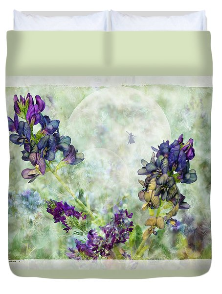 Rose Knows Duvet Cover by Ed Hall