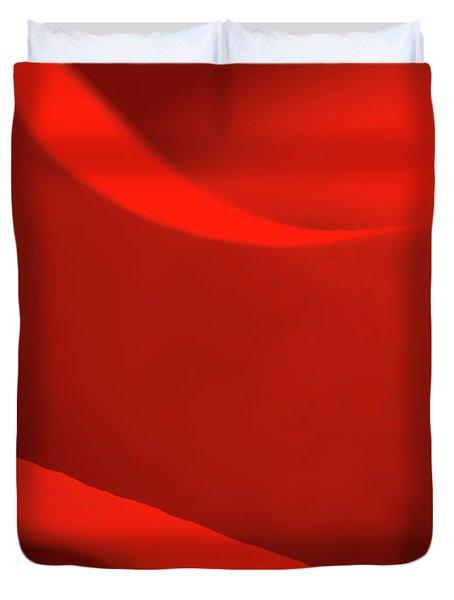 Rose Macro Duvet Cover by Wim Lanclus