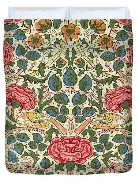 Rose Duvet Cover by William Morris