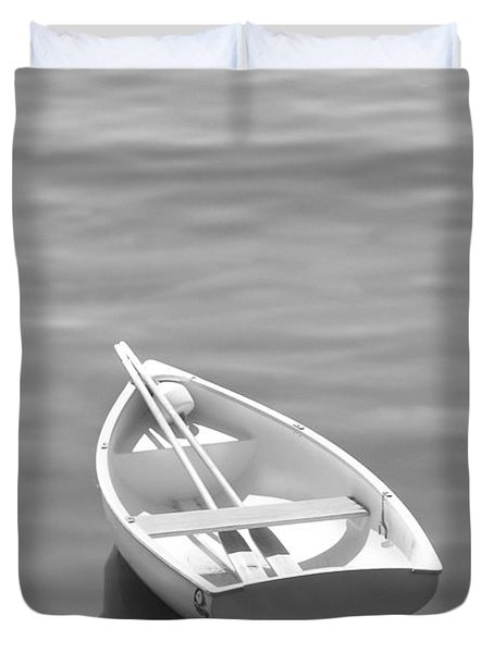Row Boat Duvet Cover by Mike McGlothlen