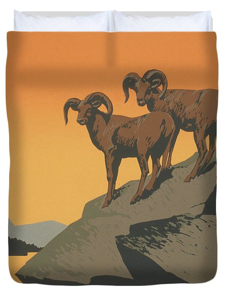 Rreserve Wildlife Duvet Cover by Unknown
