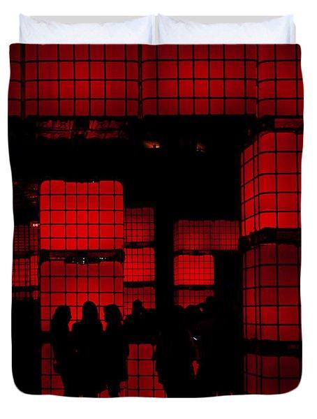 Rubik's Dream Duvet Cover by Andrew Paranavitana