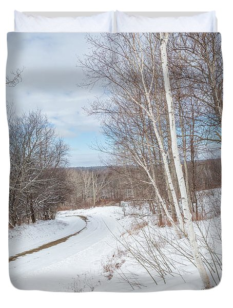 Rural Roads Duvet Cover by Bill Wakeley
