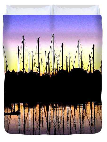 Safe Haven Duvet Cover by Will Borden
