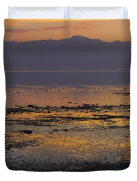 Salton Duvet Cover by Skip Hunt
