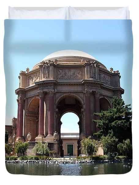 San Francisco Palace of Fine Arts - 5D18107 Duvet Cover by Wingsdomain Art and Photography