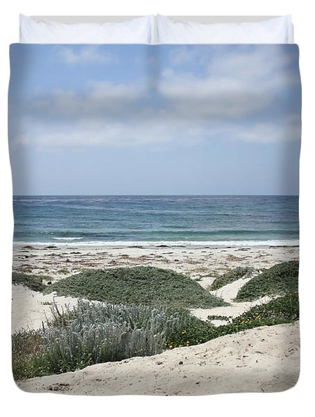 Sand and Sea Duvet Cover by Carol Groenen