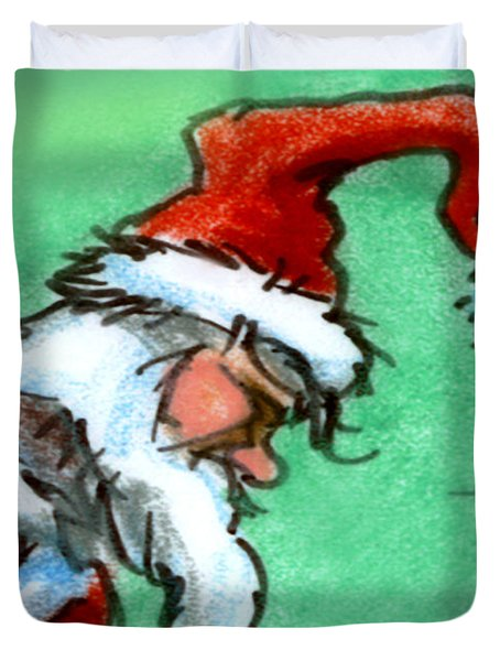 Santa Claus Duvet Cover by Kevin Middleton