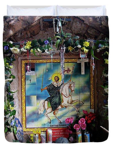Santiago Apostel Chimayo Duvet Cover by Kurt Van Wagner
