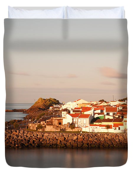 Sao Roque at sunrise Duvet Cover by Gaspar Avila