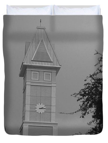 Save The Clock Tower Duvet Cover by Rob Hans