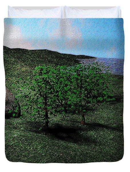 Scenery Duvet Cover by James Barnes