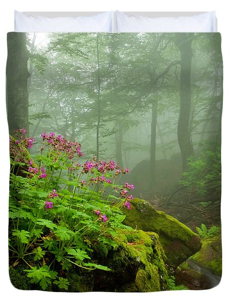 Scent Of Spring Duvet Cover by Evgeni Dinev