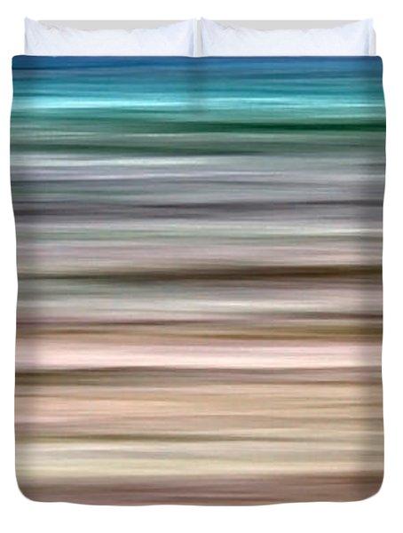 Sea Movement Duvet Cover by Stelios Kleanthous