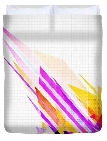 Seamless Honeycomb Pattern Duvet Cover by Setsiri Silapasuwanchai
