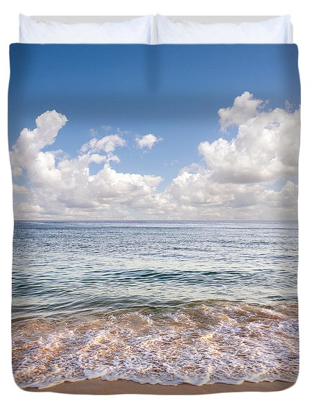 Seascape Duvet Cover by Carlos Caetano