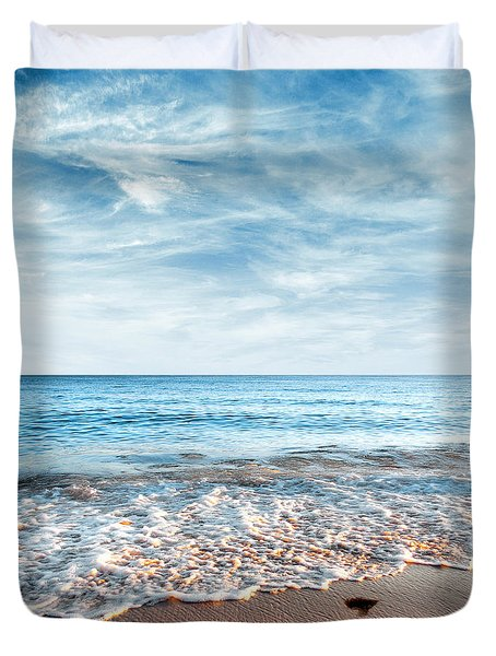 Seashore Duvet Cover by Carlos Caetano