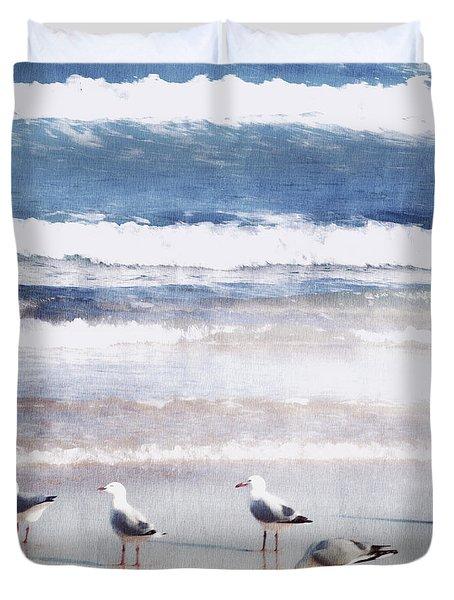 Seaspray Duvet Cover by Holly Kempe