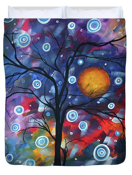 See The Beauty Duvet Cover by Megan Duncanson